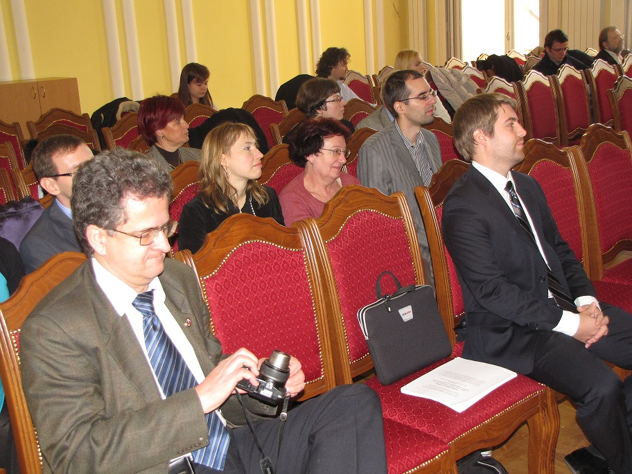 SCOPES konferencia, Szabadka, 2012