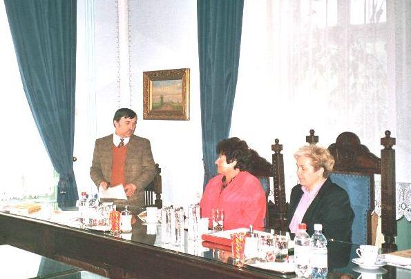 Könyvbemutató, Szabadka, 2003